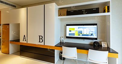学生公寓家具电视组合柜
